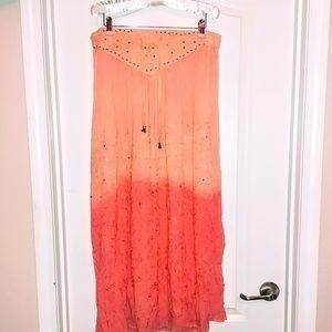 Vtg Western skirt with beads